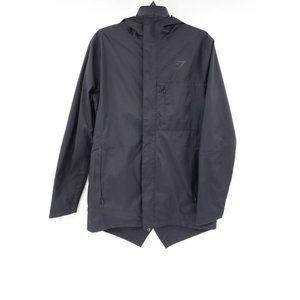 gymshark men's M full zip hooded jacket fishtail